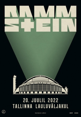 RAMMSTEIN - Europe Stadium Tour 2022 (21.07.20 ja 21.07.21 asendus)