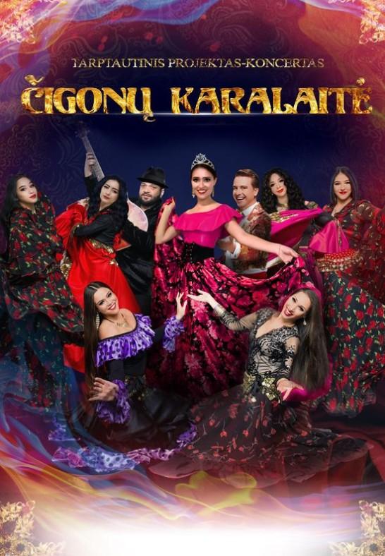 Tarptautinis projektas-koncertas ''Čigonų karalaitė''